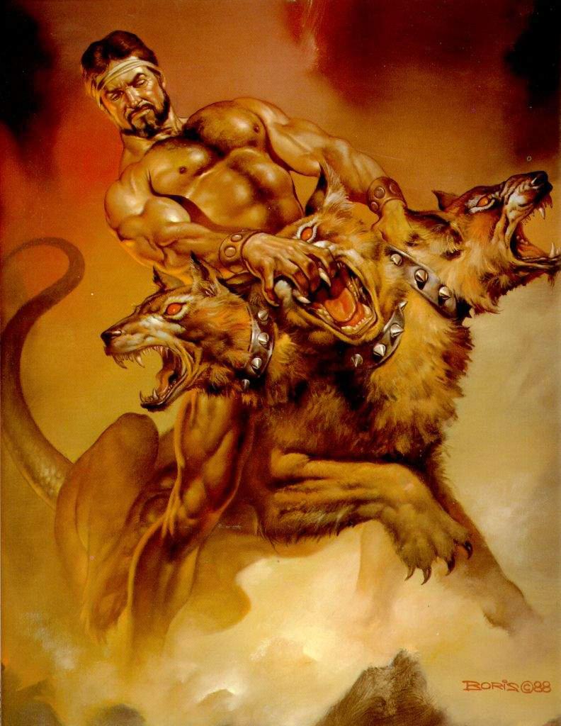 Hercules VS Cerbero