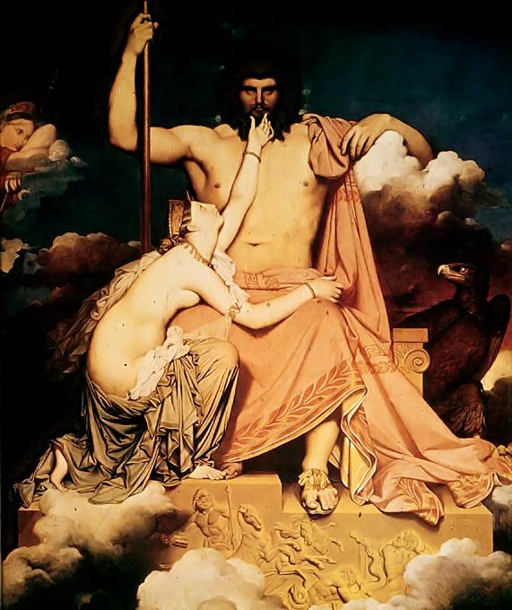 Jupiter e Tetis
