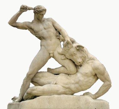 Teseu e Minotauro