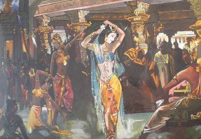 Imagem de Amrapali dançando