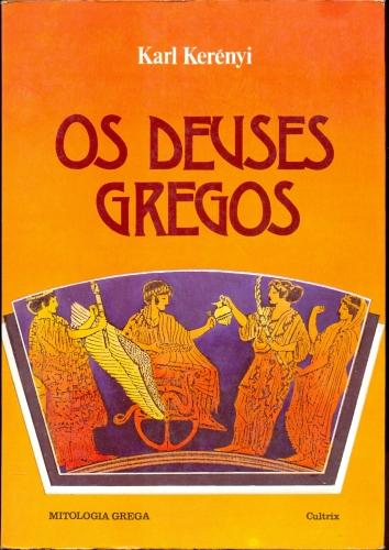 """Capa do livro """"Os Deuses Gregos"""""""