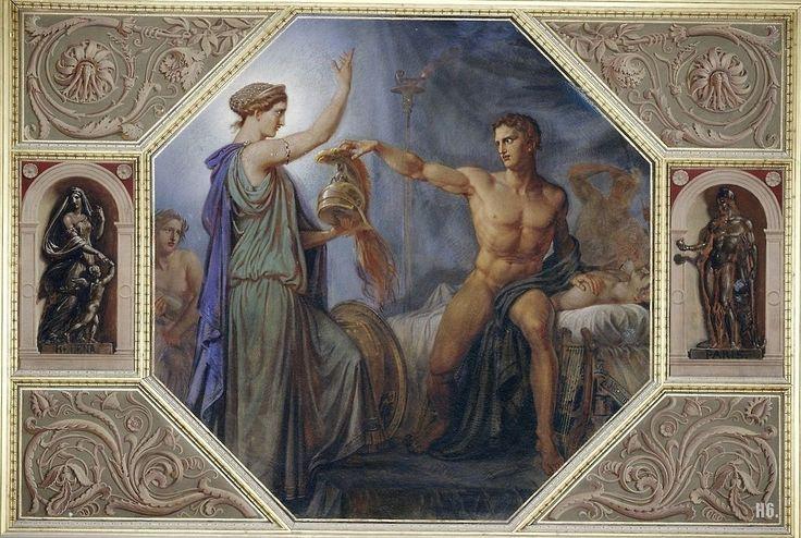 Aquiles e Thetis