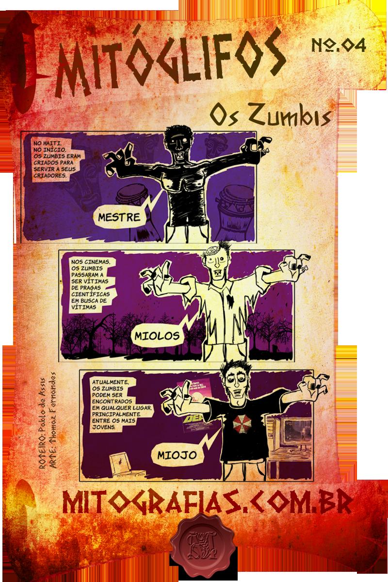 Mitóglifos 004 — Zumbi