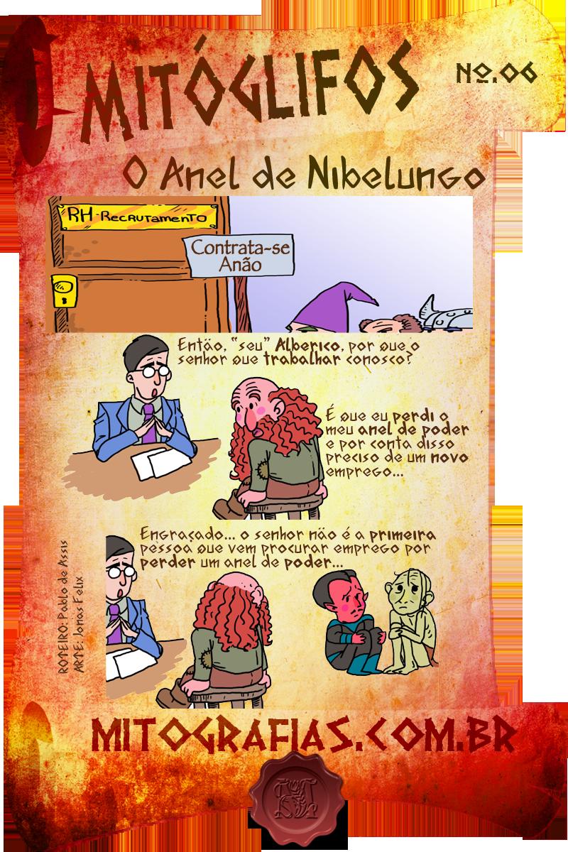 Mitóglifos 006 — O Anel de Nibelungo
