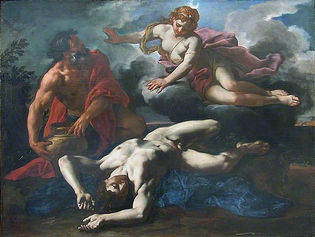 Artemis e Orion Morto
