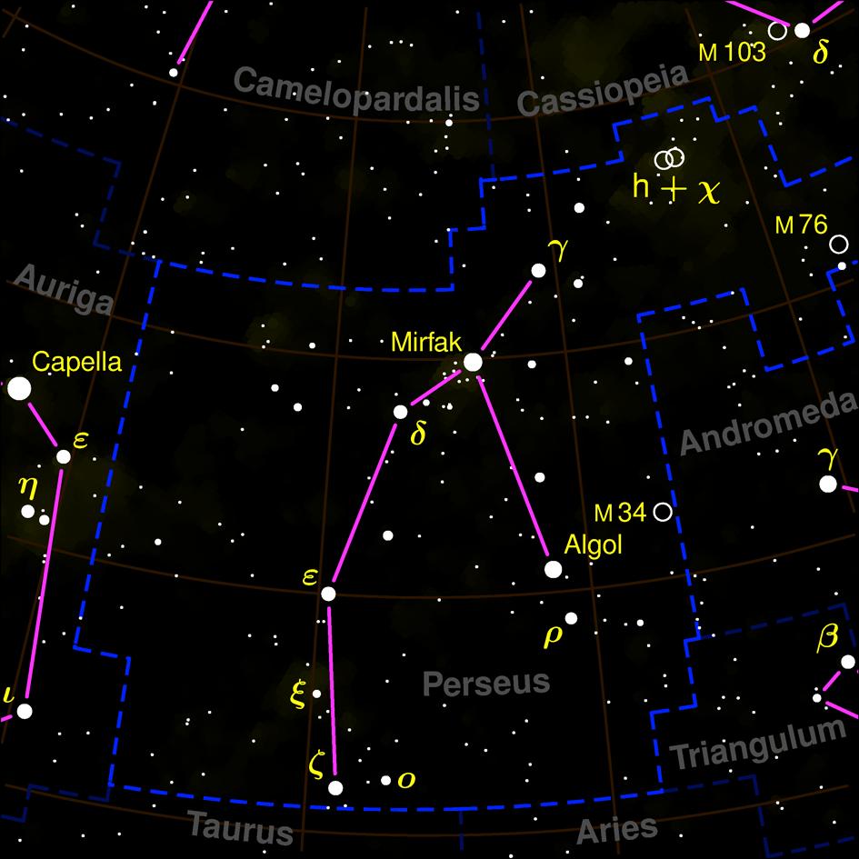 Constelacao Perseu