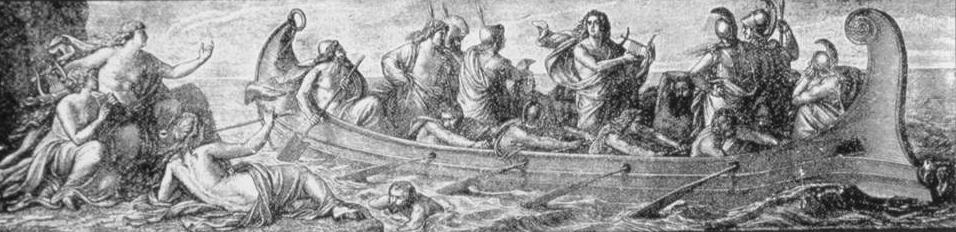 Argonautas e sereias