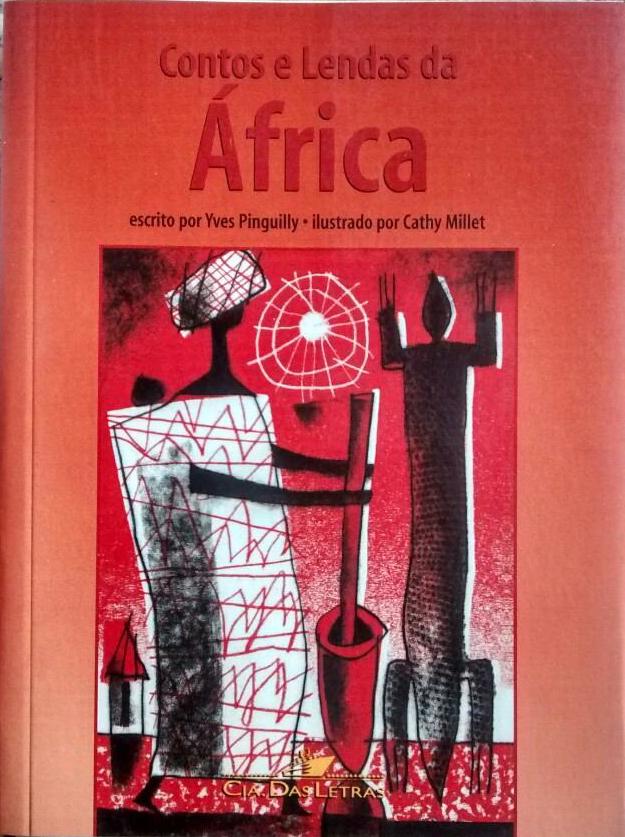 Capa do Livro Contos e Lendas da África