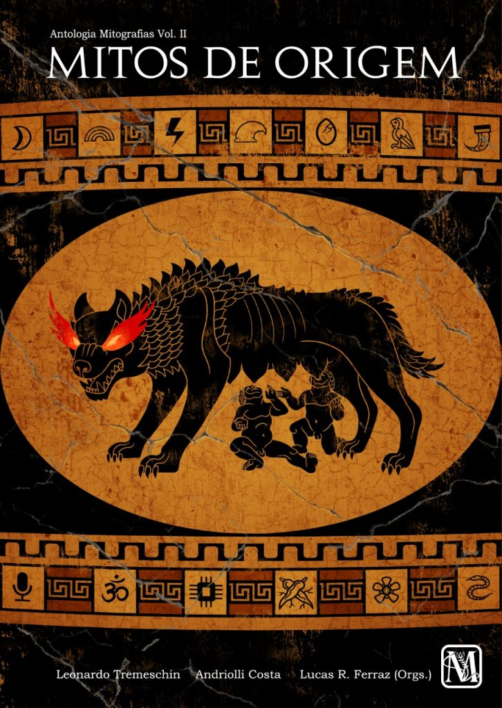 Capa Antologia Mitografias Volume 2 - Mitos de Origem