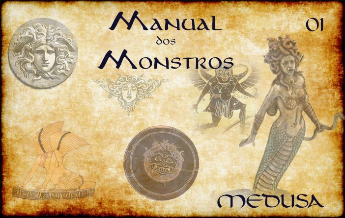 Capa Manual dos Monstros 01 - Medusa
