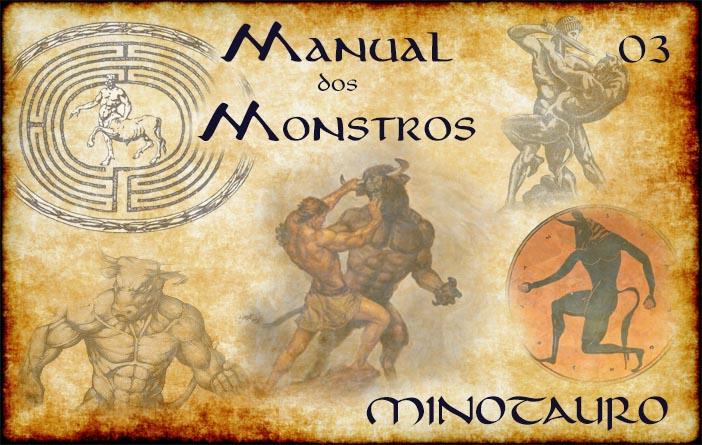 Capa Manual dos Monstros 03 - Minotauro