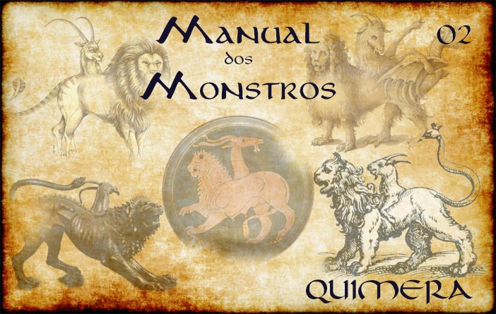 Capa Manual dos Monstros 02 - Quimera