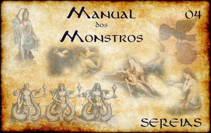 Capa de Manual dos Monstros episódio 04 - Sereias